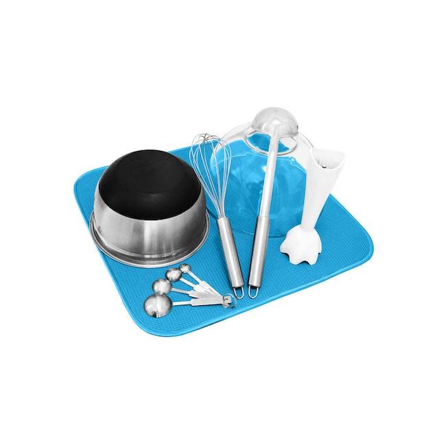 Dish Drying Mat Sea Blue - 0