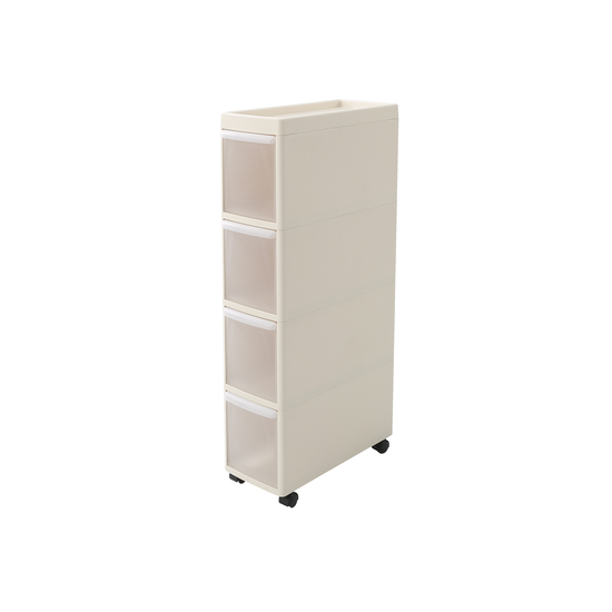 Houze - Modular 4 Tier Cabinet with Wheels