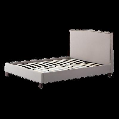 Stanley Queen Headboard Bed - Khaki - Image 2