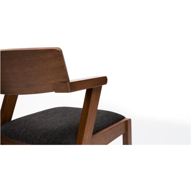 Imogen Dining Chair - Natural, Spring Green - 1
