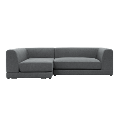 Abby L Shape Sofa with Eames Lounge Chair and Ottoman - Image 2