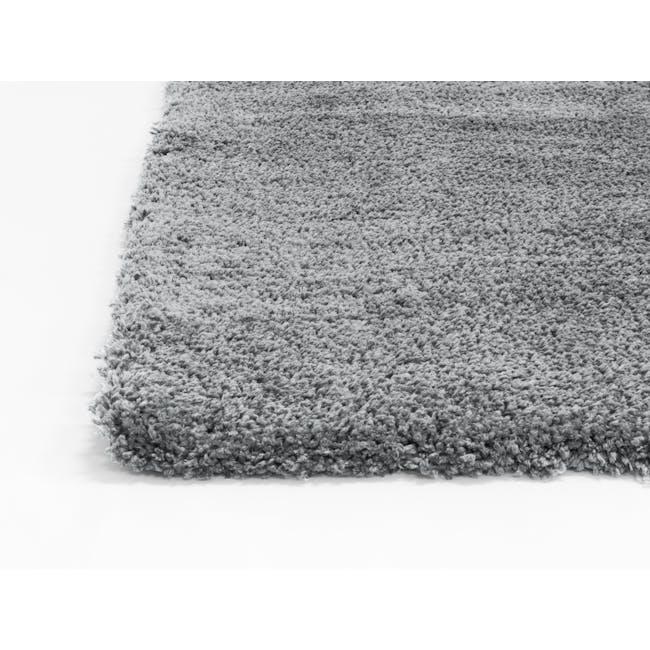 Mia High Pile Rug 3m x 2m - Grey - 3