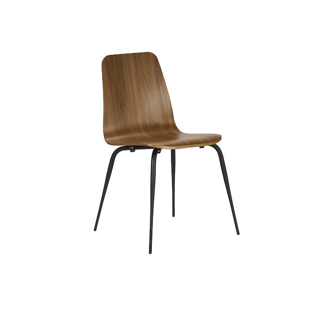 Sefa Dining Chair - Walnut - 0