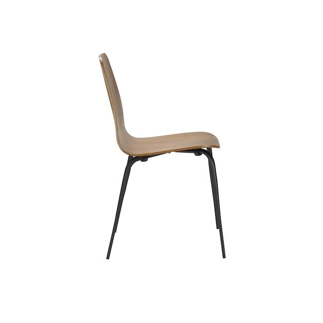 Sefa Dining Chair - Walnut - 3