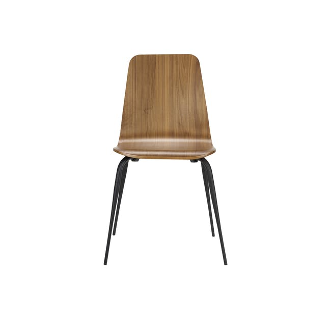 Sefa Dining Chair - Walnut - 2