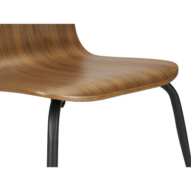 Sefa Dining Chair - Walnut - 7