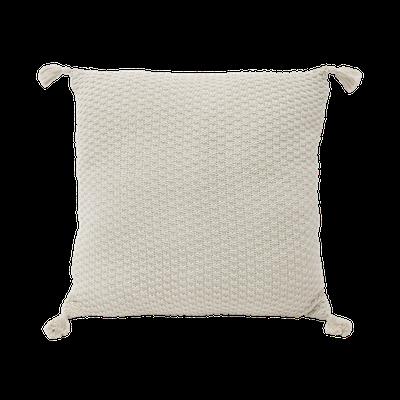 Camila Knitted Cushion - Cream - Image 1