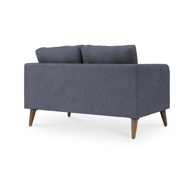 Bennett 2 Seater Sofa with Bennett Armchair - Midnight - 4
