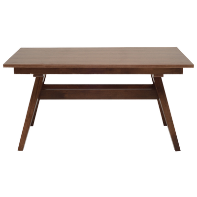 Valko 6 Seater Dining Table - Walnut - Image 1