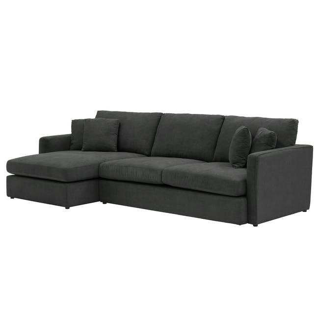 Ashley L-Shaped Lounge Sofa - Granite - 4