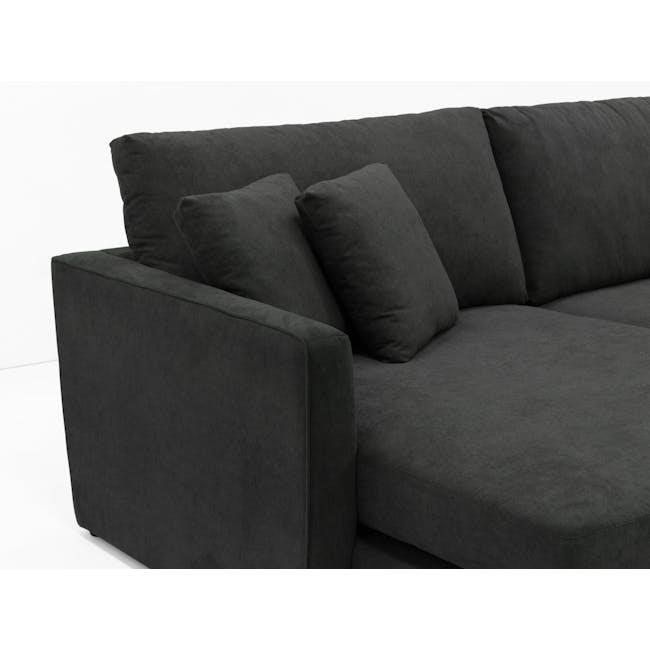 Ashley L-Shaped Lounge Sofa - Granite - 3