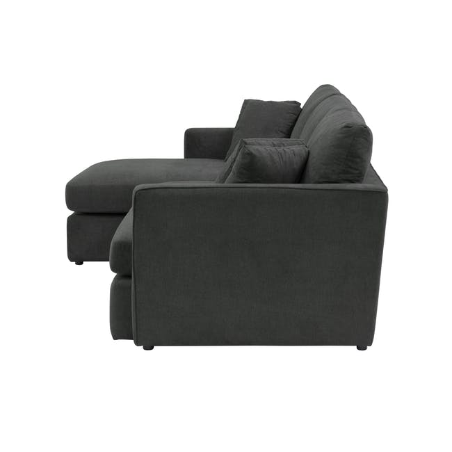 Ashley L-Shaped Lounge Sofa - Granite - 5