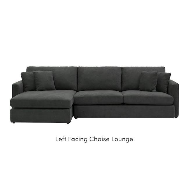 Ashley L-Shaped Lounge Sofa - Granite - 9