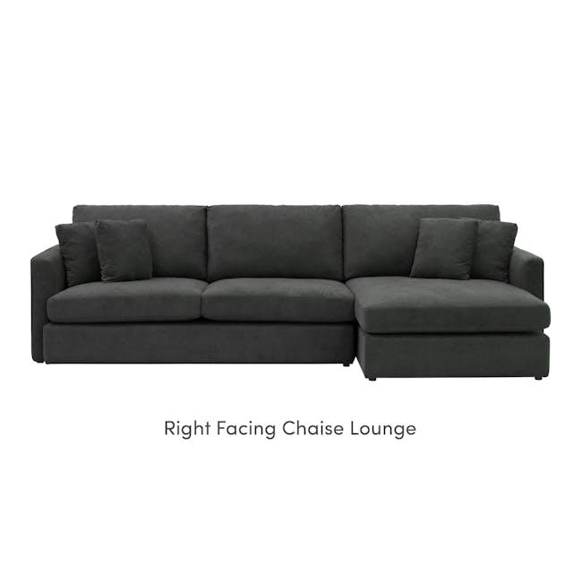 Ashley L-Shaped Lounge Sofa - Granite - 10