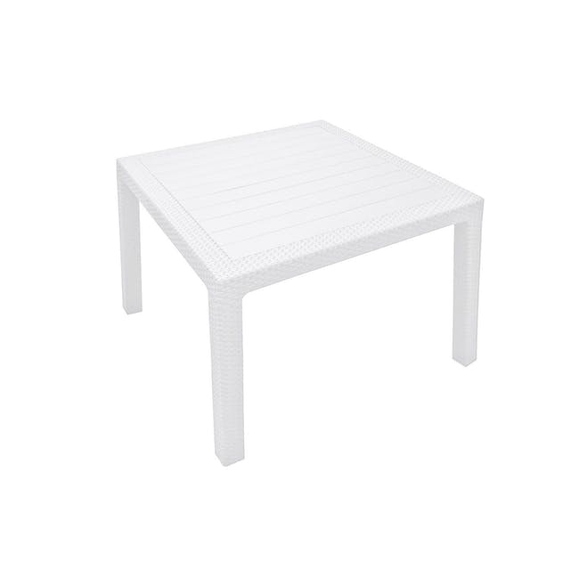 Quartet Outdoor Table - White - 2