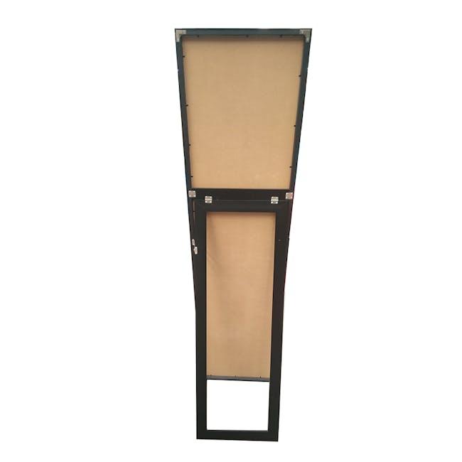Zoey Standing Mirror 30 x 150 cm - Black - 3