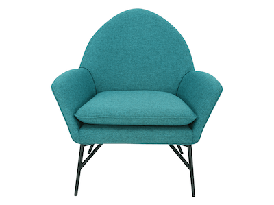 Esther Lounge Chair - Nile Green