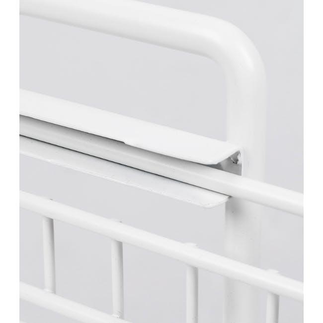 Tori Kitchen Organiser Slim - White - 4