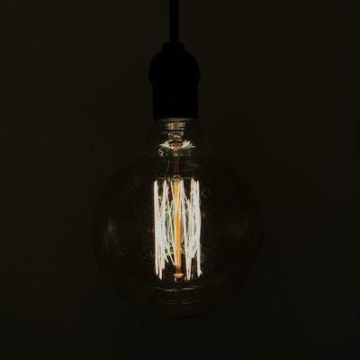 Edison G125 Spiral Globe Filament Bulb - Image 1