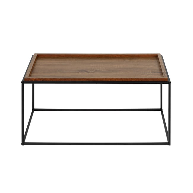 Dana Rectangle Coffee Table 1m - Walnut - 0