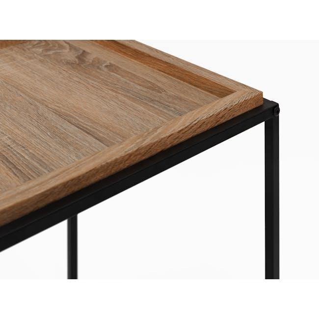 Dana Rectangle Coffee Table 1m - Walnut - 3