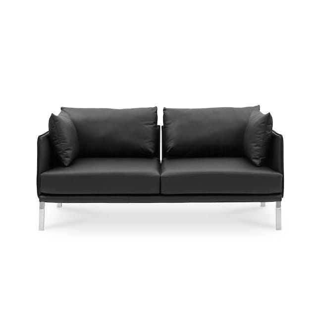 DS-333 3 Seater Sofa Replica - Black (Genuine Cowhide) - 0