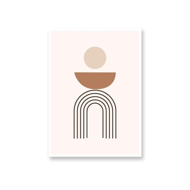 Borderless Graphic Art Print on Paper (2 Sizes) - Meditate - 0