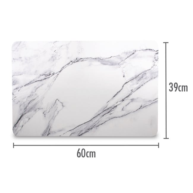 Diatomite Absorbent Mat - Marble - 1