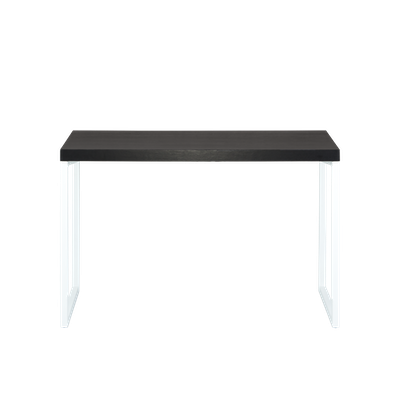 Brent Work Table 1.2m - Black, White - Image 2