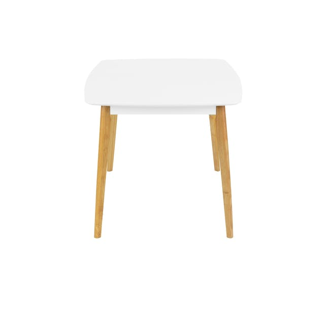 (As-is) Harold Dining Table 1.5m - Natural, White - 56 - 12