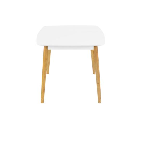 Malmo - Harold Dining Table 1.5m - Natural, White