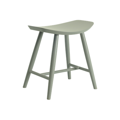 Philana Stool - Grey Lacquered - Image 1