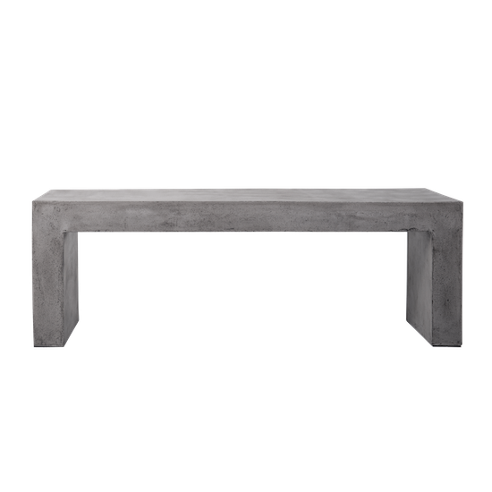 Ryland Concrete Bench 1 4m Concrete Furniture By Hipvan Hipvan