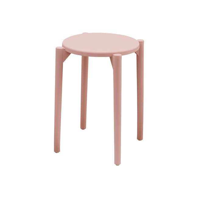 Olly Stackable Stool - Pink - 0