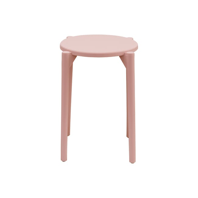 Olly Stackable Stool - Pink - 2