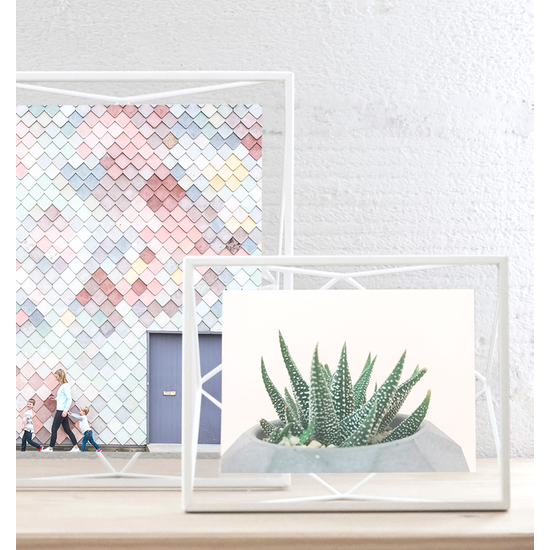 Umbra - Prisma Rectangle Photo Display - White