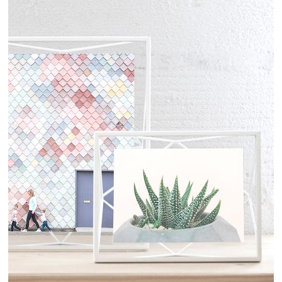 Umbra - Prisma Rectangle Photo Display - White