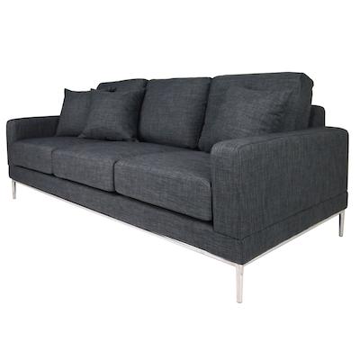 Norman 3 Seater Sofa - Grey