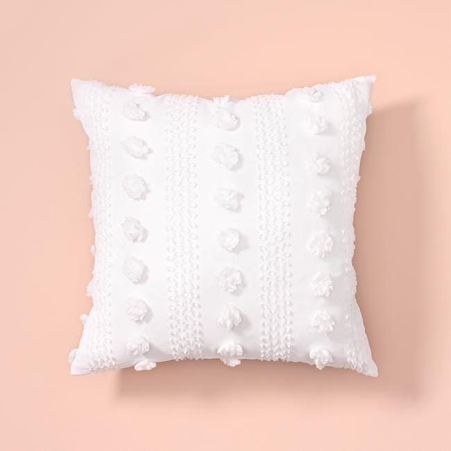 Snowballs in Whistler Throw Cushion - 3