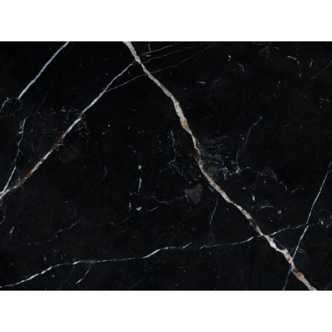 Sienna Marble Coffee Table - Black, Gold - 4