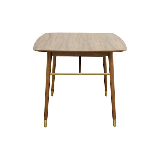 Hagen Dining Table 1.8m - Walnut - 2
