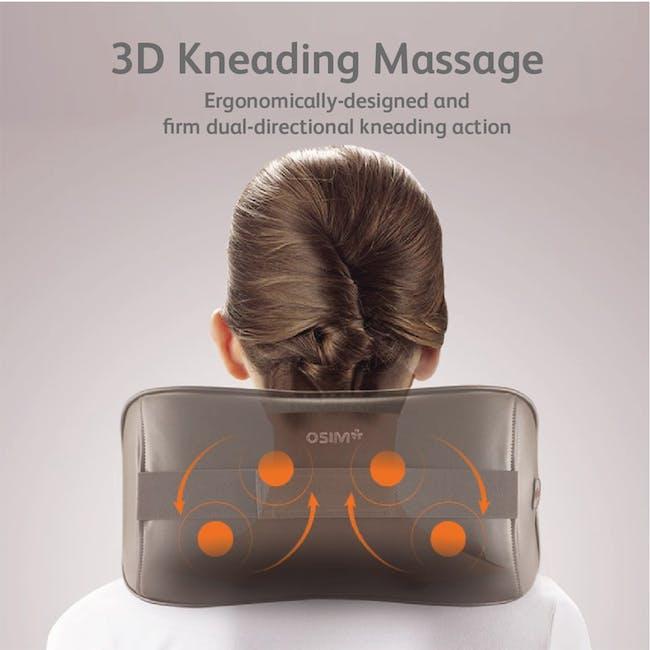 OSIM uCozy 3D Neck & Shoulders Massager - Red - 1