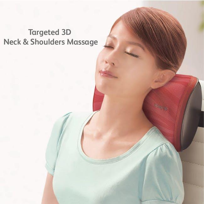 OSIM uCozy 3D Neck & Shoulders Massager - Red - 2