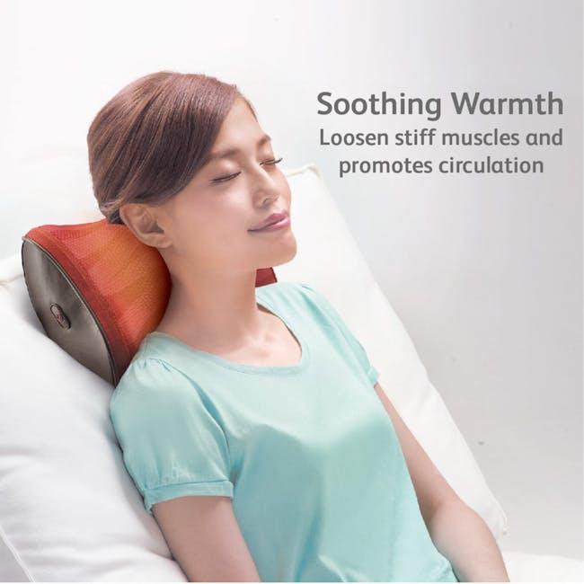 OSIM uCozy 3D Neck & Shoulders Massager - Red - 3