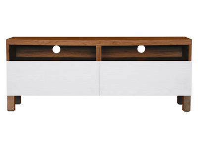 (As-is) Gordon TV Console 1.2m - Walnut - 3 - Image 1