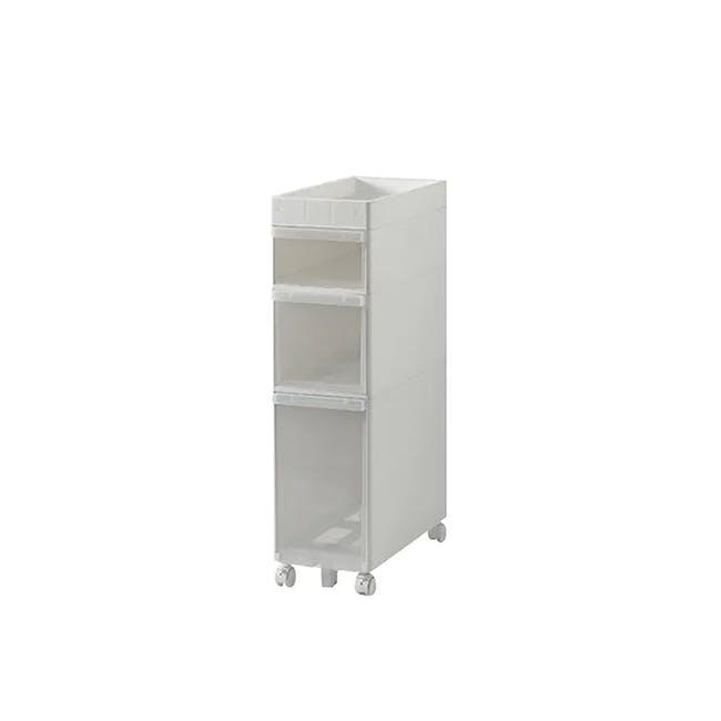 Krusty 3 Tier Rolling Storage Cabinet - 0