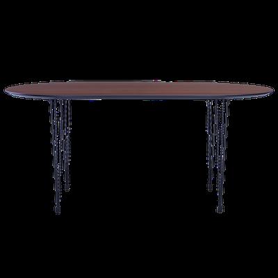 Rikku Dining Table 1.7m - Walnut - Image 2
