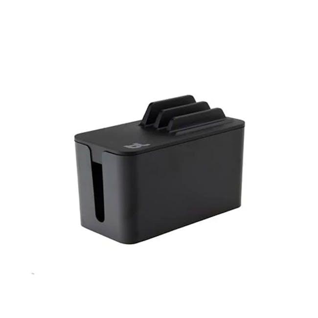 Bluelounge Cablebox Mini Station - Black - 0