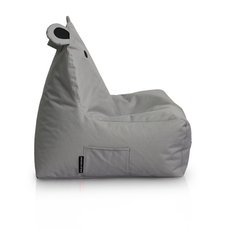 Hippo Bean Bag - Grey