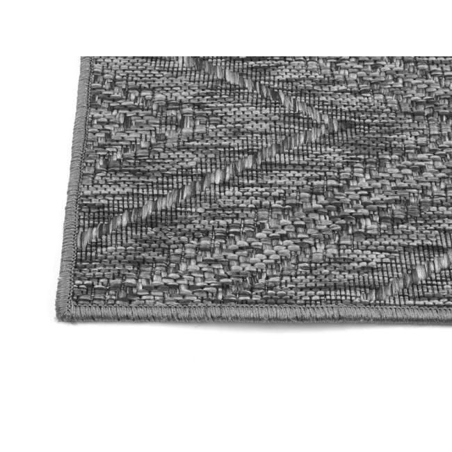 Timber Flatwoven Rug 2.3m x 1.6m - Dark Chevon - 4